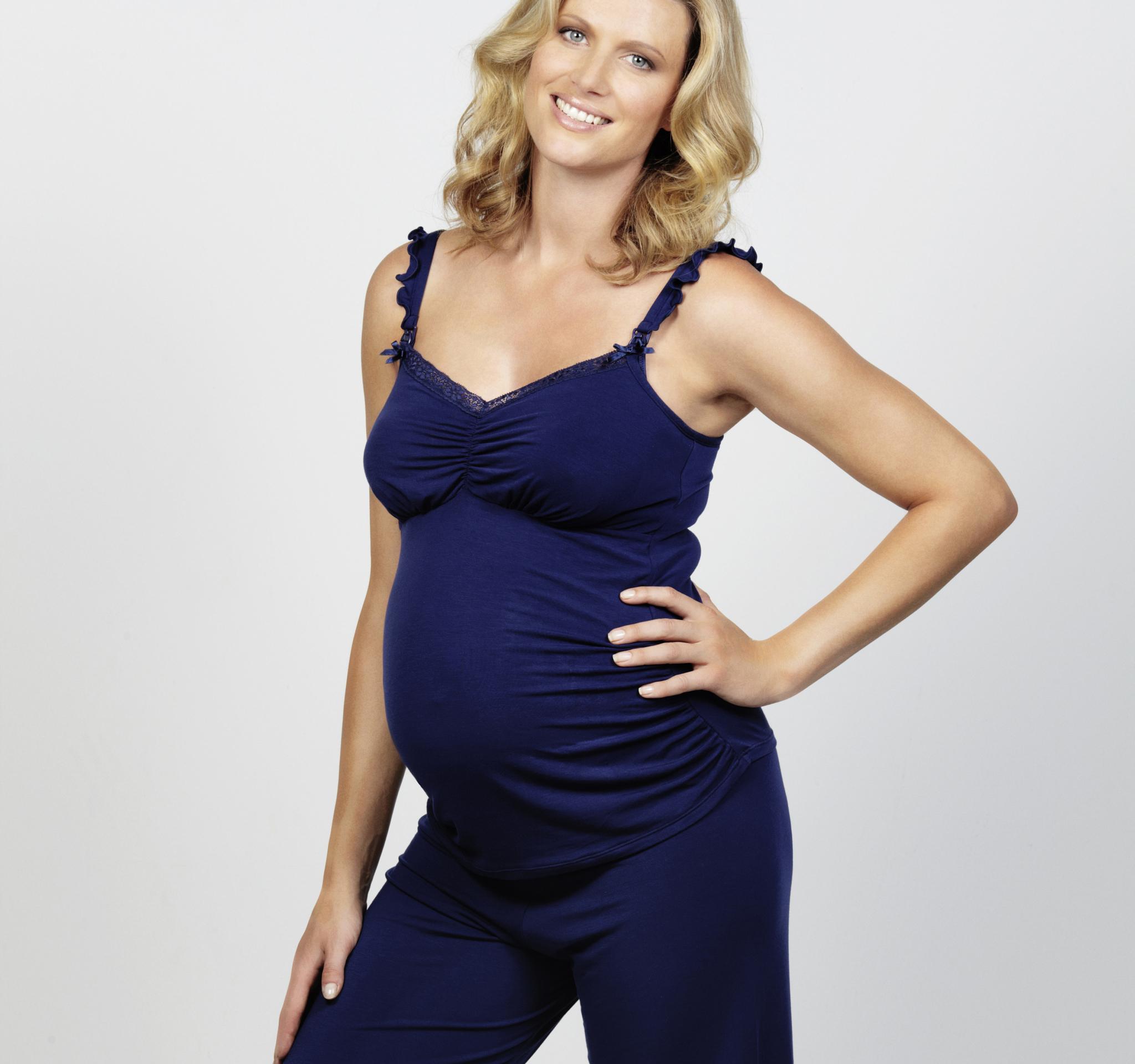 ZwangerschapsTop Blue Berry Cake lingerie