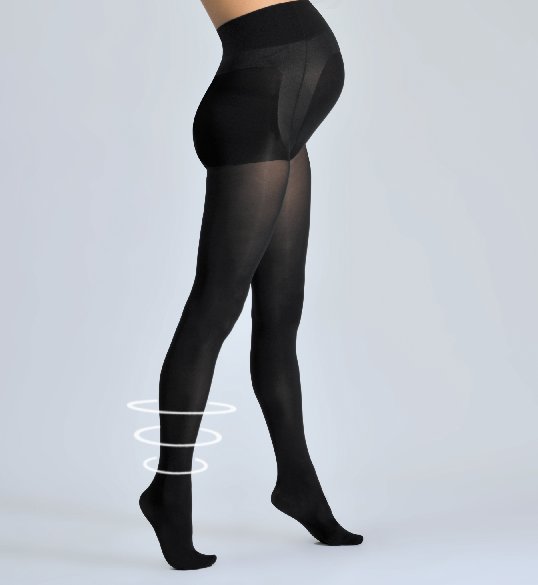 Zwangerschaps panty Activ zwart Cache Coeur