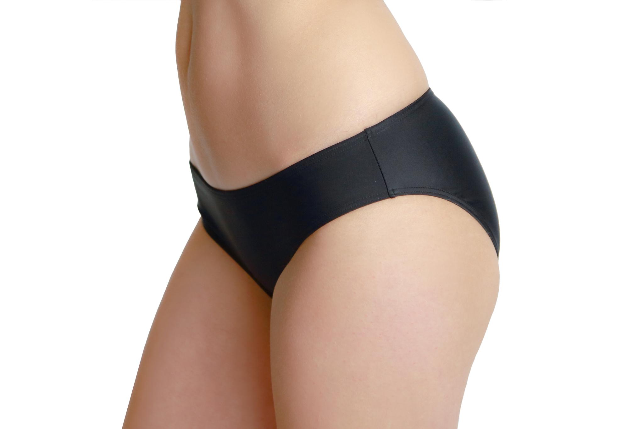 Bikini Tankini slip zwart
