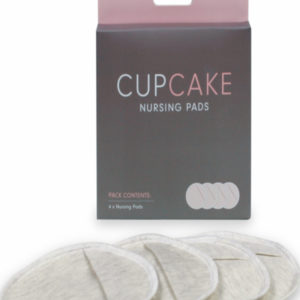 Cupcake borstcompressen 4 st.