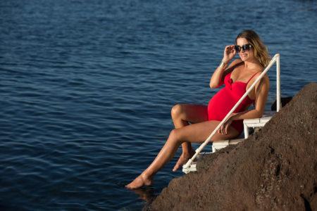 Cache Coeur zwangerschapsbadpak Monaco Passion