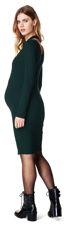 Supermom zwangerschapsjurk groen